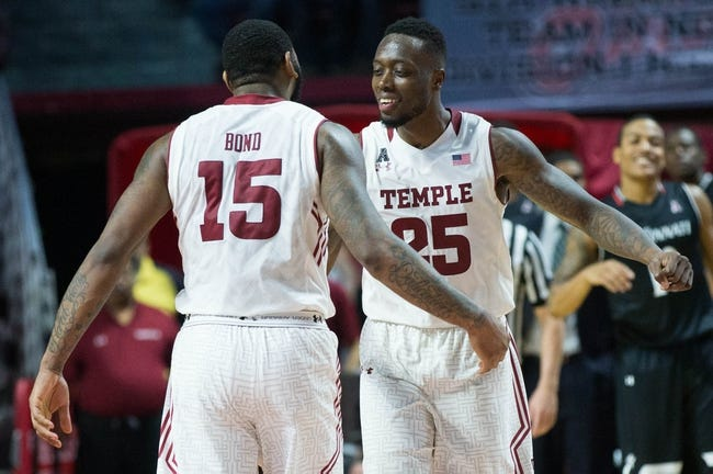 Temple vs. SMU - 1/24/16 College Basketball Pick, Odds, and Prediction