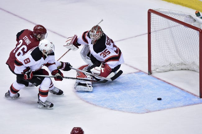 New Jersey Devils vs. Arizona Coyotes - 10/25/16 NHL Pick, Odds, and Prediction