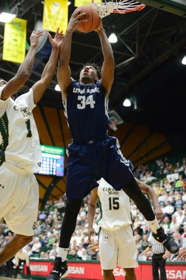 Utah State Aggies vs. Colorado State Rams - 2/17/16 College Basketball Pick, Odds, and Prediction