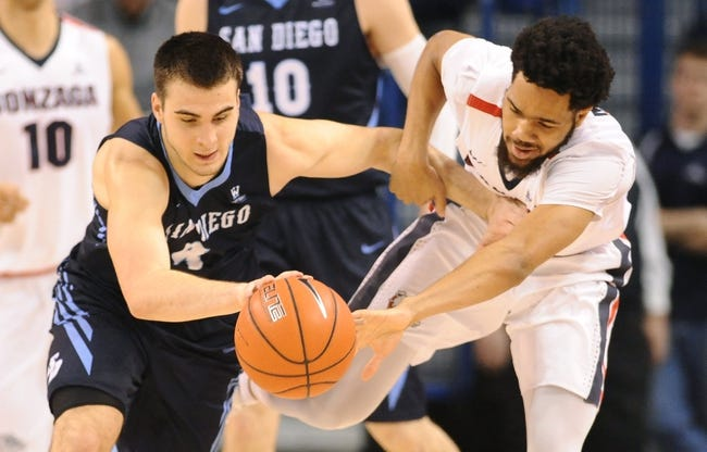 San Diego vs. BYU - 2/18/16 College Basketball Pick, Odds, and Prediction