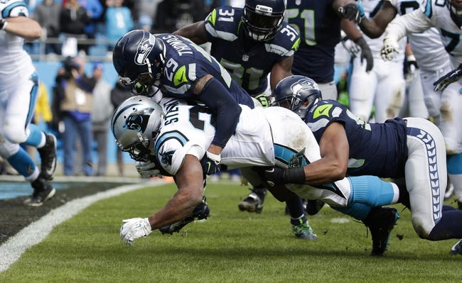 Seattle Seahawks at Carolina Panthers 1/17/16 NFL Score, Recap, News and Notes