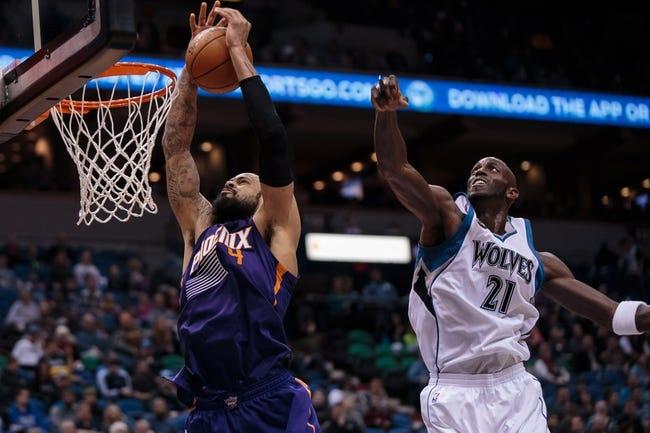 Phoenix Suns vs. Minnesota Timberwolves - 3/14/16 NBA Pick, Odds, and Prediction