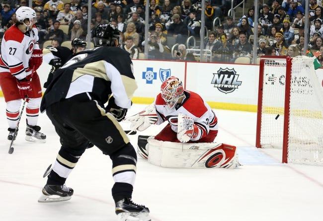 Hurricanes vs. Penguins - 2/12/16 NHL Pick, Odds, and Prediction