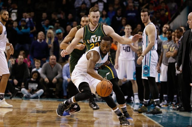 Jazz vs. Hornets - 1/27/16 NBA Pick, Odds, and Prediction