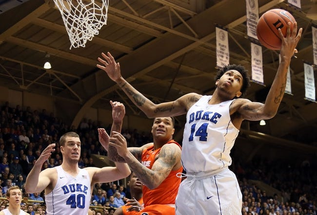 North Carolina State vs. Duke Blue - 1/23/16 College Basketball Pick, Odds, and Prediction
