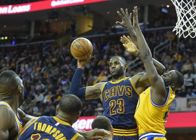Golden State Warriors vs. Cleveland Cavaliers Game One - 6/2/16 NBA Pick, Odds, and Prediction