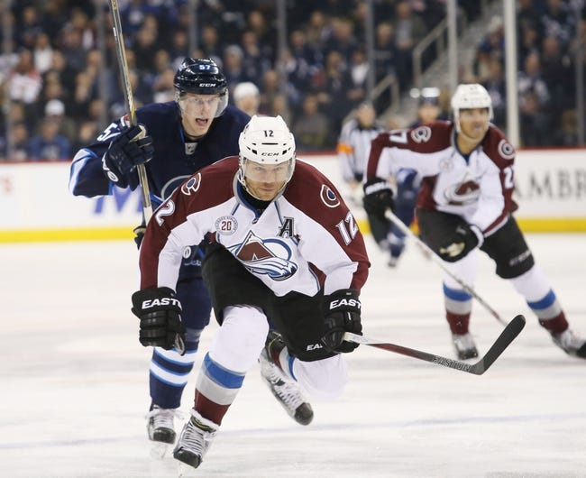 Avalanche vs. Jets - 2/6/16 NHL Pick, Odds, and Prediction