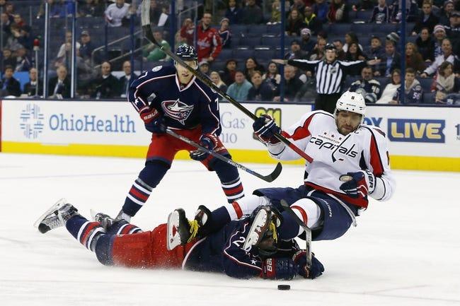 Capitals vs. Blue Jackets - 3/28/16 NHL Pick, Odds, and Prediction