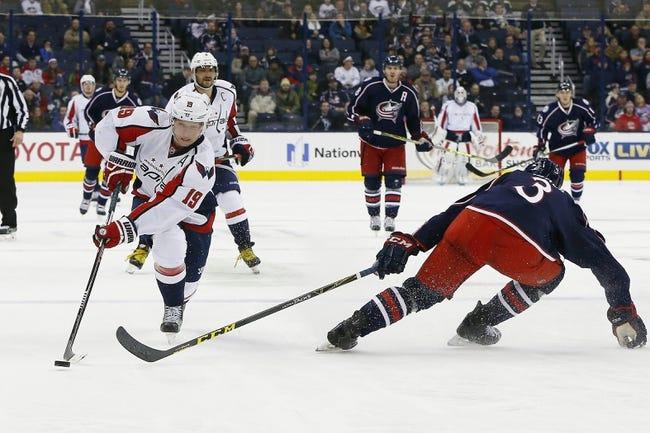 Columbus Blue Jackets vs. Washington Capitals - 11/15/16 NHL Pick, Odds, and Prediction