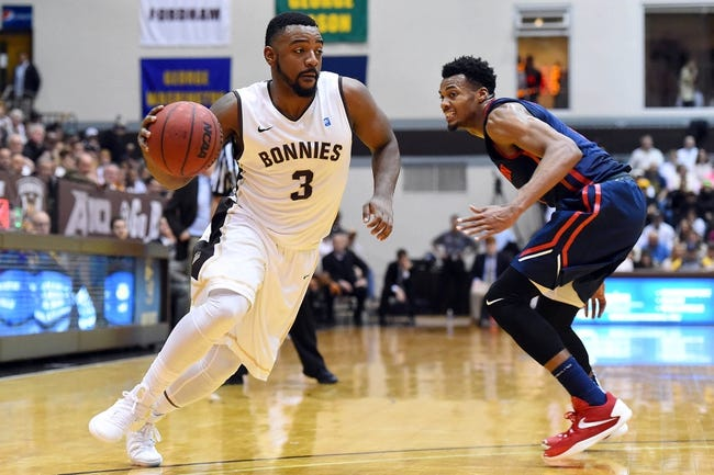 St. Bonaventure vs. George Washington - 2/13/16 College Basketball Pick, Odds, and Prediction