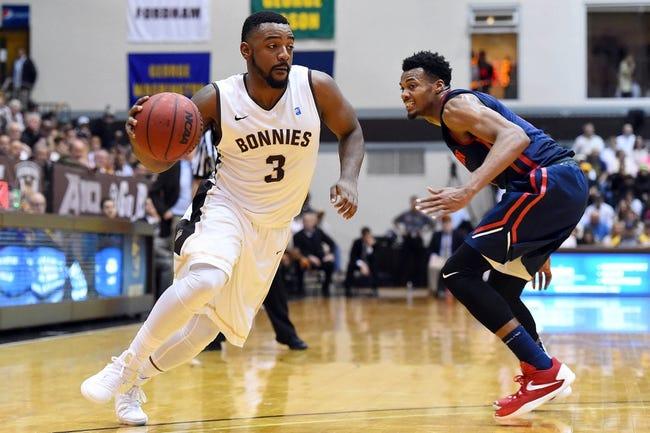 St. Bonaventure Bonnies vs. Saint Louis Billikens - 2/7/16 College Basketball Pick, Odds, and Prediction