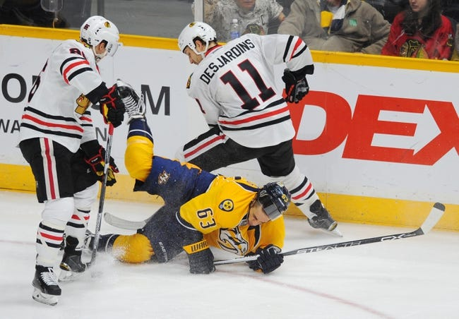 Blackhawks vs. Predators - 2/25/16 NHL Pick, Odds, and Prediction