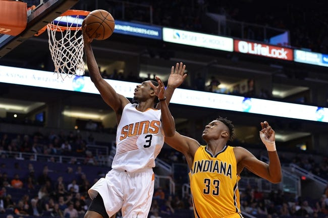Indiana Pacers vs. Phoenix Suns - 11/18/16 NBA Pick, Odds, and Prediction