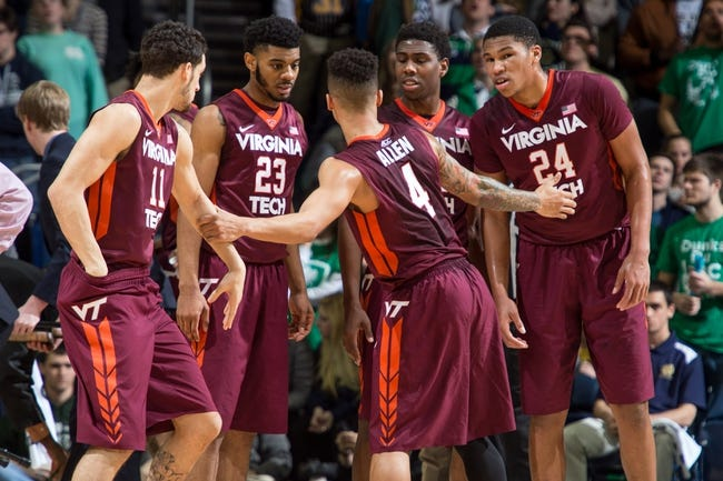 Virginia Tech vs. North Carolina - 1/24/16 College Basketball Pick, Odds, and Prediction