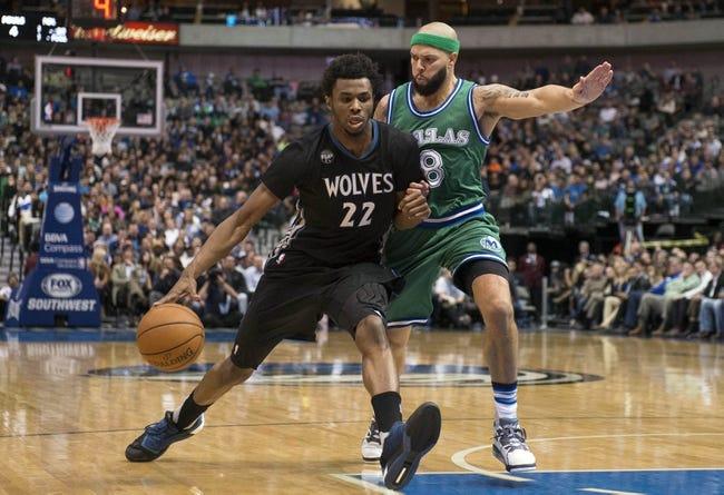 Mavericks vs. Timberwolves - 2/28/16 NBA Pick, Odds, and Prediction