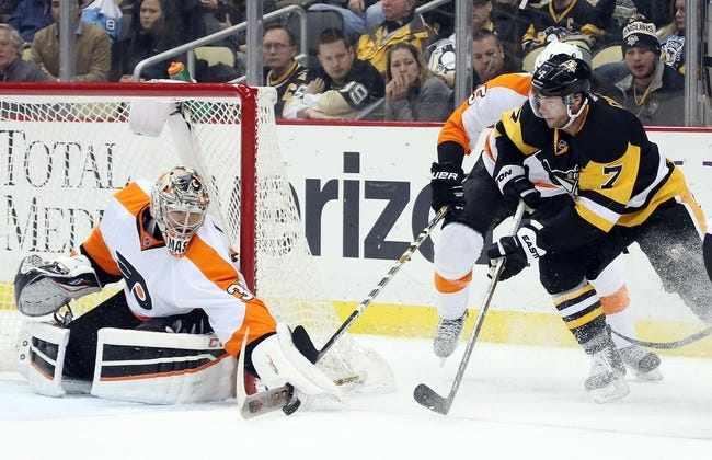 Flyers vs. Penguins - 3/19/16 NHL Pick, Odds, and Prediction