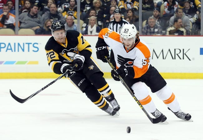 Pittsburgh Penguins vs. Philadelphia Flyers - 4/3/16 NHL Pick, Odds, and Prediction