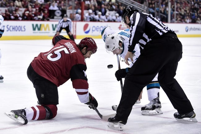 Coyotes vs. Sharks - 3/17/16 NHL Pick, Odds, and Prediction