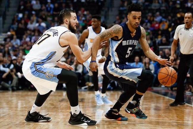 Nuggets vs. Grizzlies - 2/29/16 NBA Pick, Odds, and Prediction