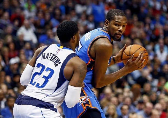 Oklahoma City Thunder at Dallas Mavericks  - 2/24/16 NBA Pick, Odds, and Prediction