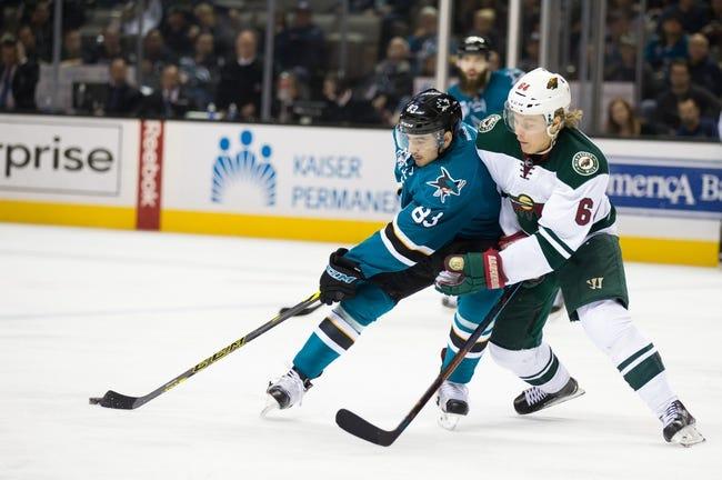 Wild vs. Sharks - 4/5/16 NHL Pick, Odds, and Prediction