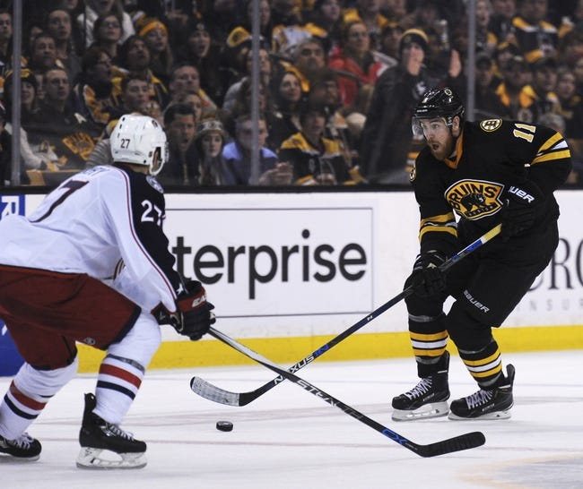 Columbus Blue Jackets vs. Boston Bruins - 2/16/16 NHL Pick, Odds, and Prediction
