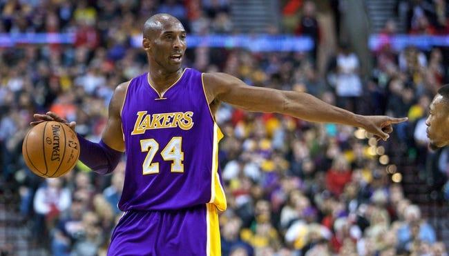 Bulls at Lakers - 1/28/16 NBA Pick, Odds, and Prediction