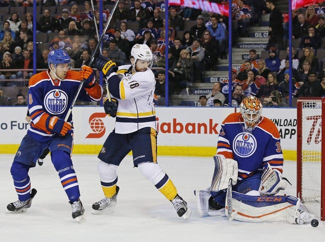 Oilers vs. Predators - 3/14/16 NHL Pick, Odds, and Prediction