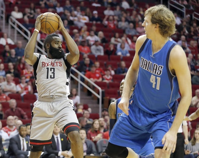 Dallas Mavericks vs. Houston Rockets - 10/28/16 NBA Pick, Odds, and Prediction
