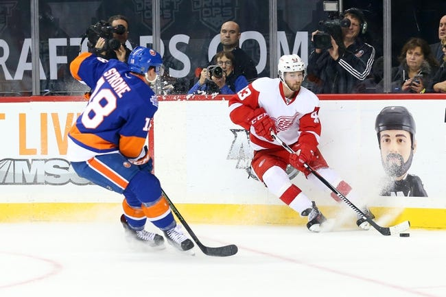 Red Wings vs. Islanders - 2/6/16 NHL Pick, Odds, and Prediction
