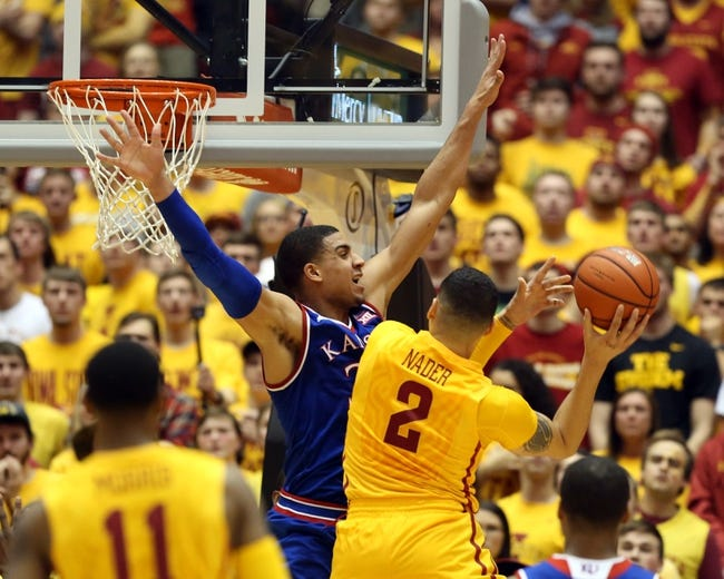 Kansas vs. Iowa State - 3/5/16 College Basketball Pick, Odds, and Prediction