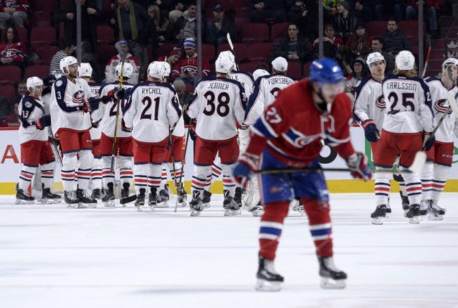 Columbus Blue Jackets vs. Montreal Canadiens - 11/4/16 NHL Pick, Odds, and Prediction