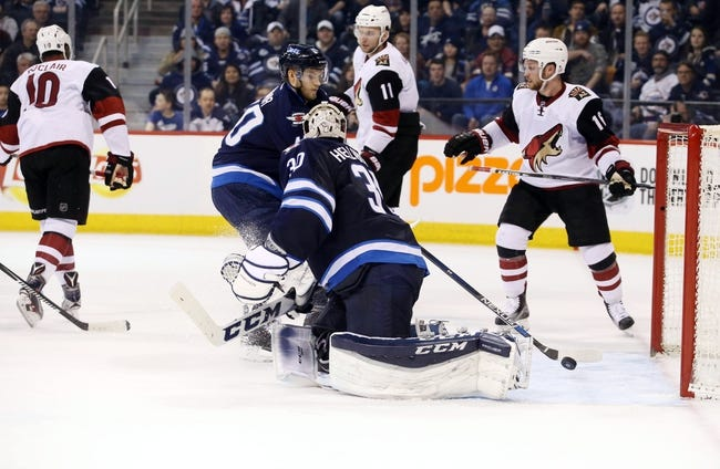 Arizona Coyotes vs. Winnipeg Jets - 11/10/16 NHL Pick, Odds, and Prediction