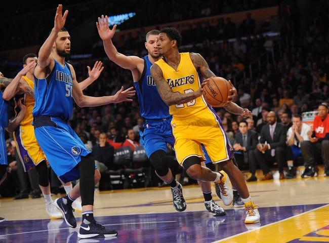Los Angeles Lakers vs. Dallas Mavericks - 11/8/16 NBA Pick, Odds, and Prediction