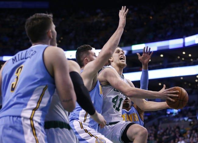 Nuggets vs. Celtics - 2/21/16 NBA Pick, Odds, and Prediction
