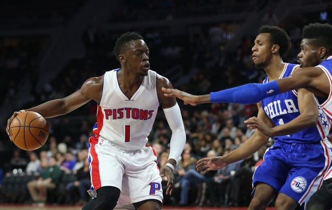 Pistons vs. 76ers - 2/24/16 NBA Pick, Odds, and Prediction
