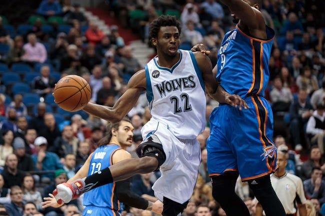 Thunder vs. Timberwolves - 3/11/16 NBA Pick, Odds, and Prediction