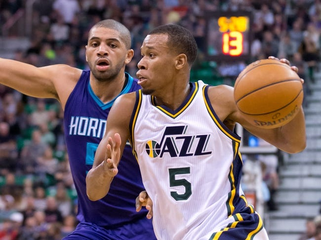 Charlotte Hornets vs. Utah Jazz - 11/9/16 NBA Pick, Odds, and Prediction