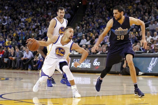 Dallas Mavericks vs. Golden State Warriors - 3/18/16 NBA Pick, Odds, and Prediction