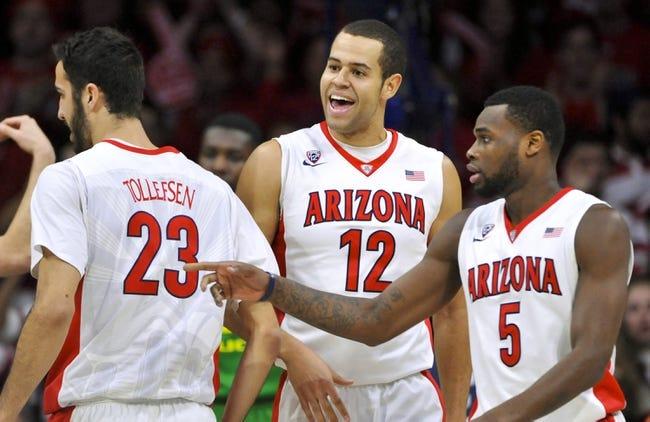 Arizona vs. Oregon State - 1/30/16 College Basketball Pick, Odds, and Prediction