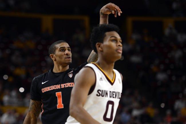 Oregon State vs. Arizona State - 3/9/16 College Basketball Pick, Odds, and Prediction
