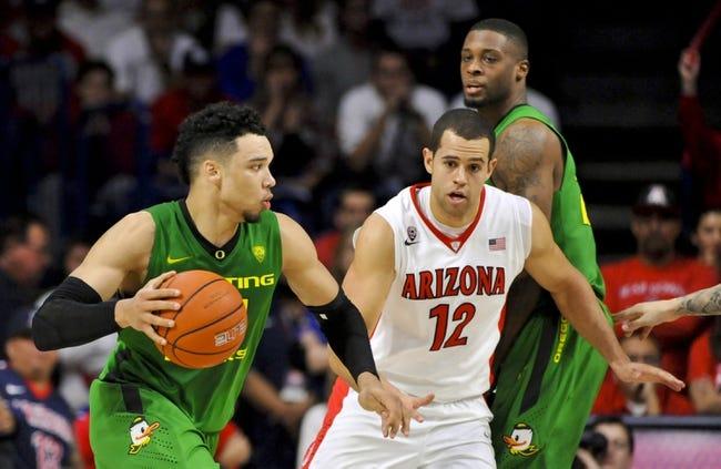 Oregon vs. Arizona - 3/11/16 College Basketball Pick, Odds, and Prediction