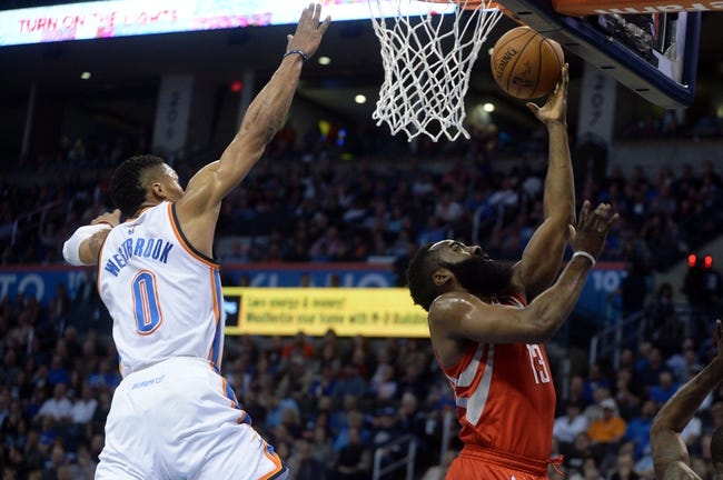 Oklahoma City Thunder vs. Houston Rockets - 11/16/16 NBA Pick, Odds, and Prediction