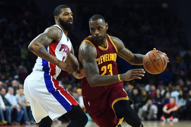 Cavaliers vs. Pistons - 2/22/16 NBA Pick, Odds, and Prediction