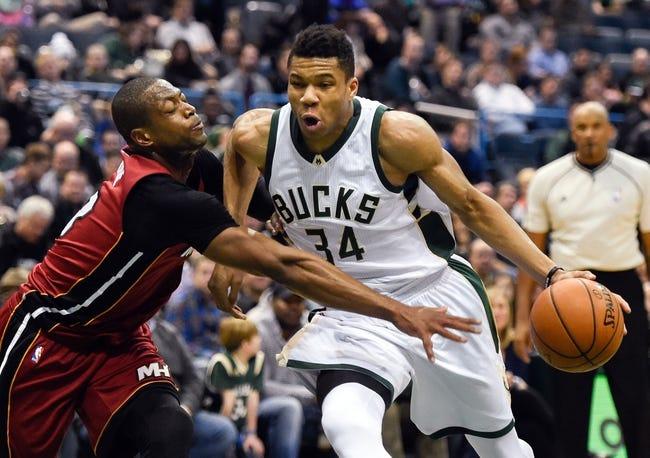 Bucks vs. Heat - 3/9/16 NBA Pick, Odds, and Prediction