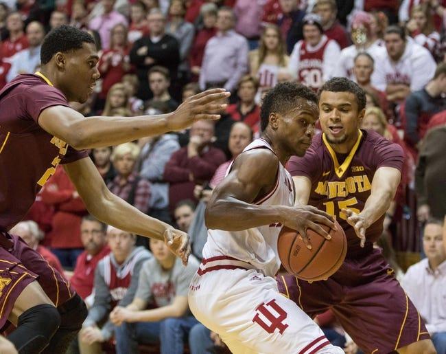 Minnesota vs. Indiana - 1/6/18 College Basketball Pick, Odds, and Prediction