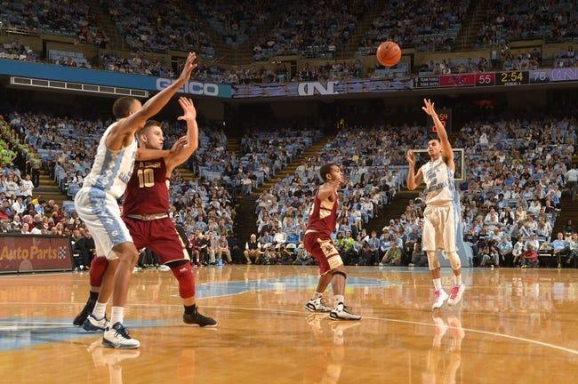 Boston College vs. North Carolina - 2/9/16 College Basketball Pick, Odds, and Prediction