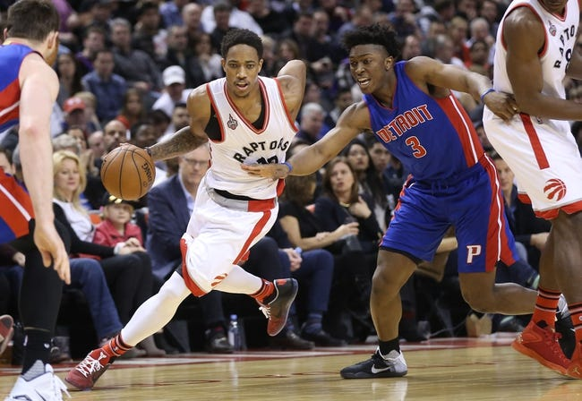 Pistons vs. Raptors - 2/8/16 NBA Pick, Odds, and Prediction