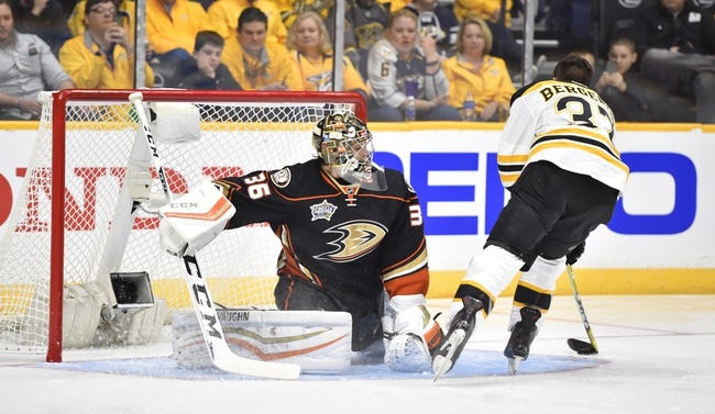Ducks vs. Bruins - 3/18/16 NHL Pick, Odds, and Prediction