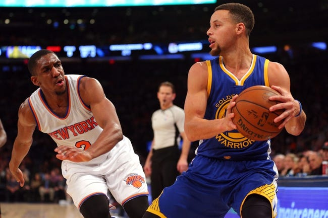 Golden State Warriors vs. New York Knicks - 3/16/16 NBA Pick, Odds, and Prediction